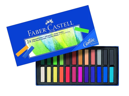 Goldfaber Soft Pastels 24 Half Size
