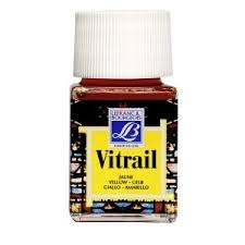 Vitrail 250ml Orange Yellow  Glass Paint