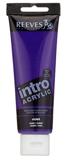 Reeves 120ml Violet  Acrylic