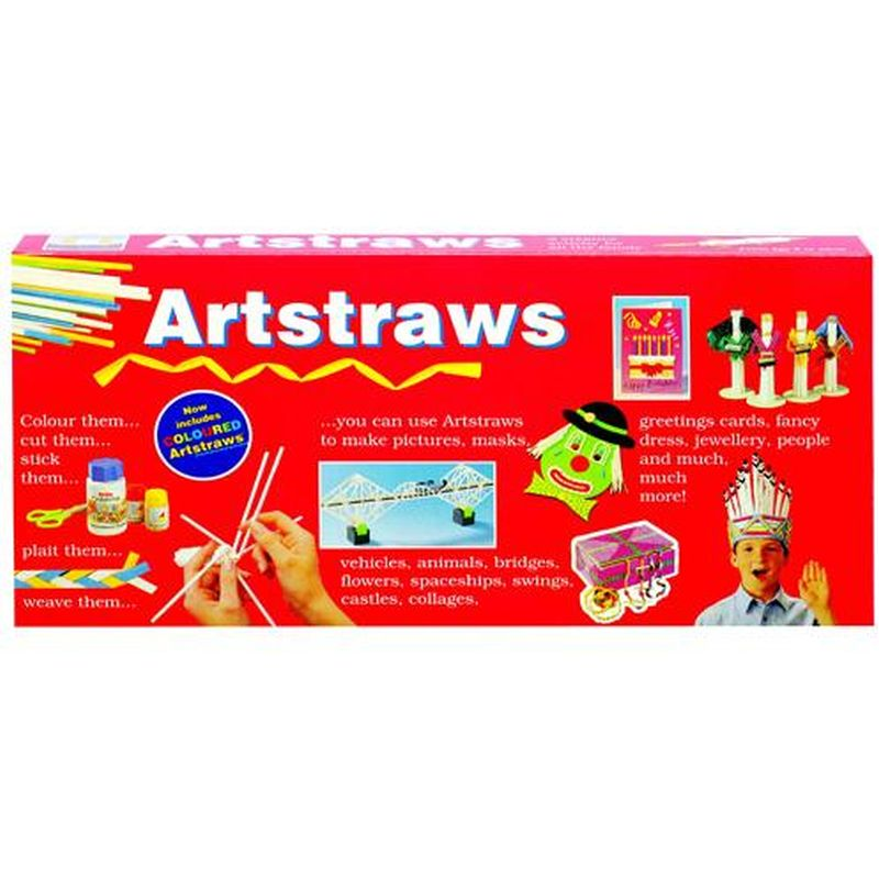 Art Straws -long  Bx.200