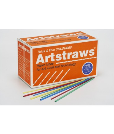 Art Straws School Pack 1,800 Mixed Sizes
