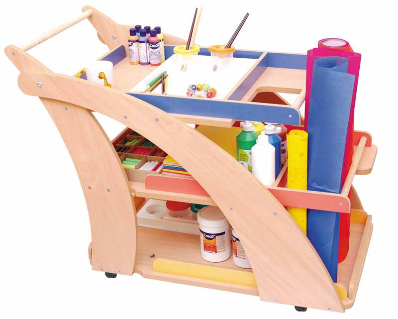 Arts And Craft Trolley