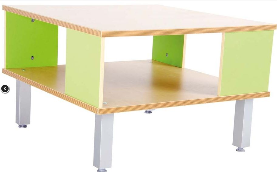 Premium Table With Shelf