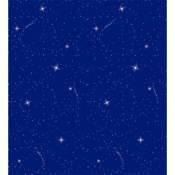 Fadeless Roll Design  - Night Sky 1.2m X 3.7m