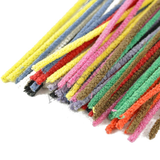 "Pipe Cleaners -asst.cols 6""(50)"