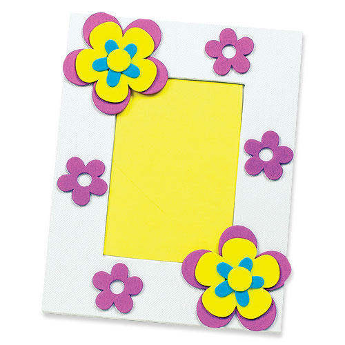 Flower Garden Foam Stickers