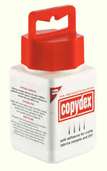 Copydex Tub 125ml W/brush Single