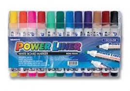 Powerline W/board Markers (12)