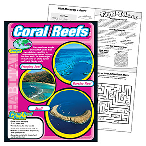 Learning Chart -coral Reefs *special*