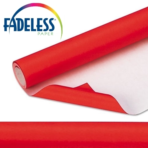 Fadeless Roll Red (48x50in)