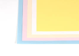 Flash Cards Pastel 6x4cols(50)