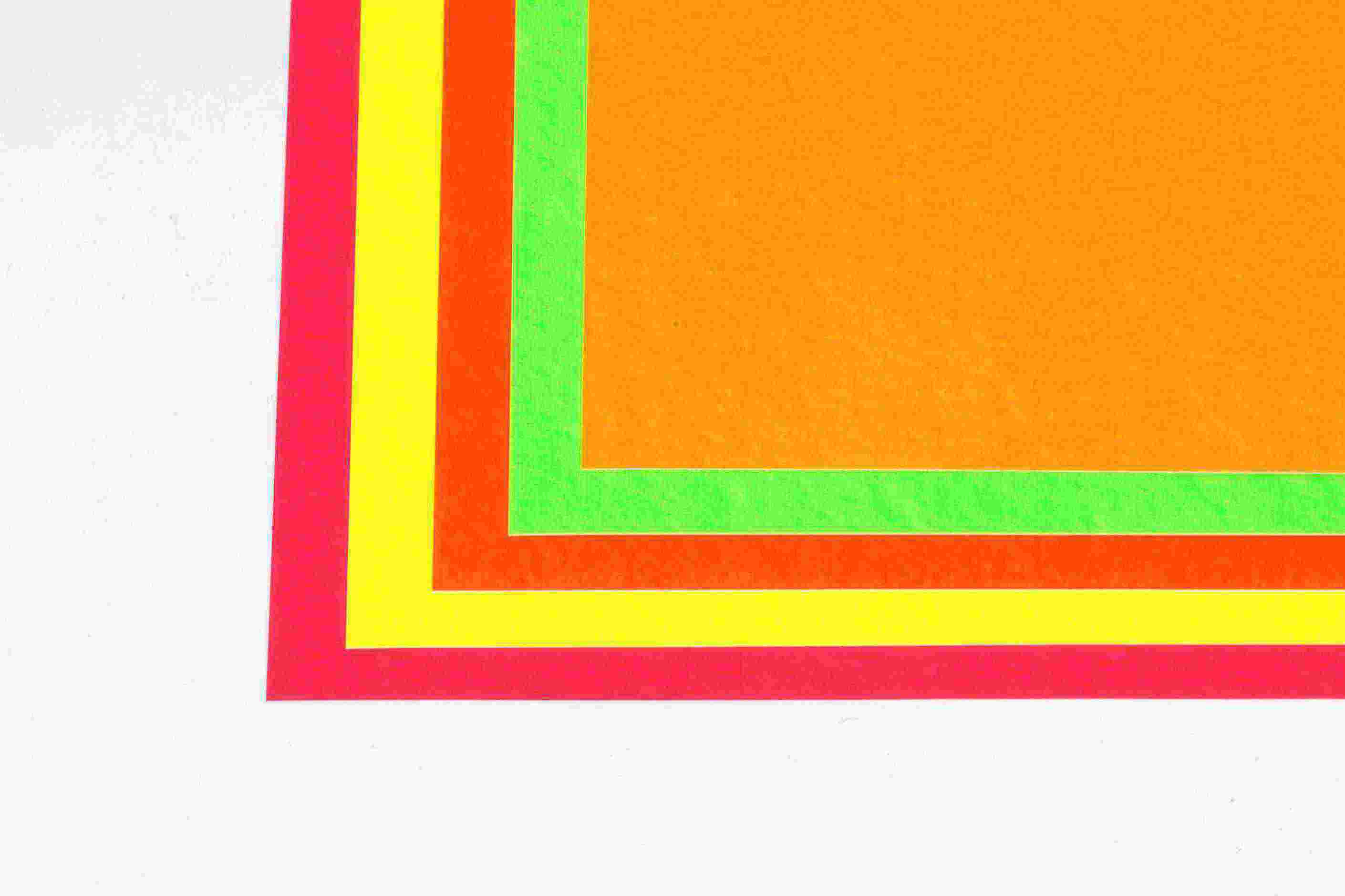 Flash Cards -fluo 6x4(50)