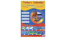Poster -today's Calender