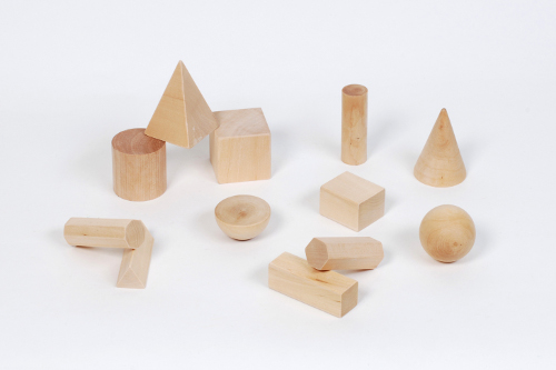 Wooden Shape Blocks (17)