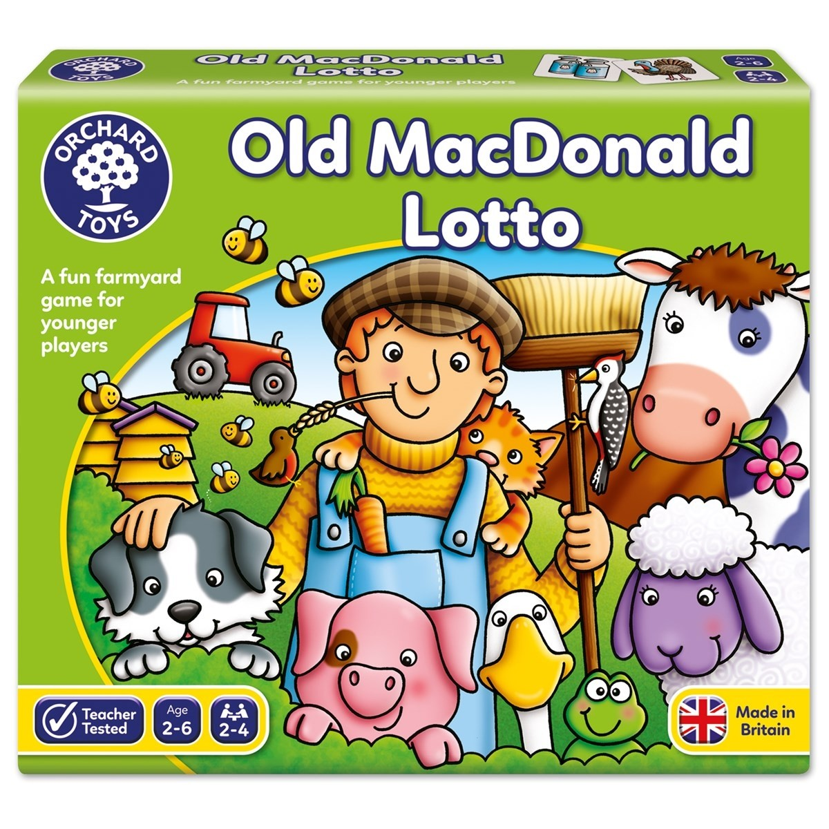 Orchard Old Mac Donald Lotto Game