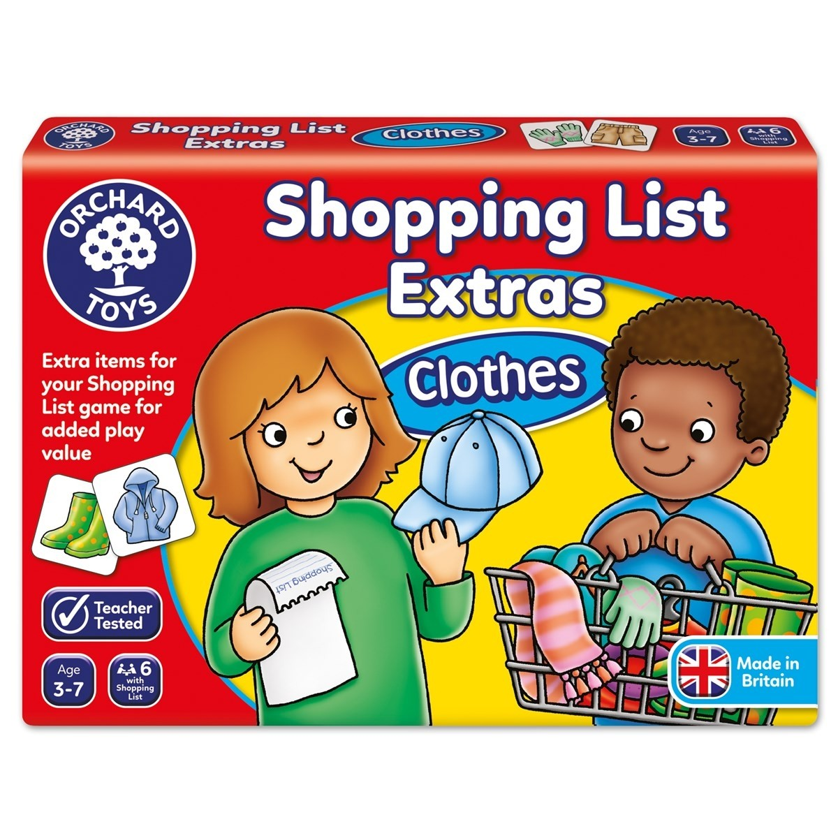 Orchard Toys  - Shopping List Extras Clothes