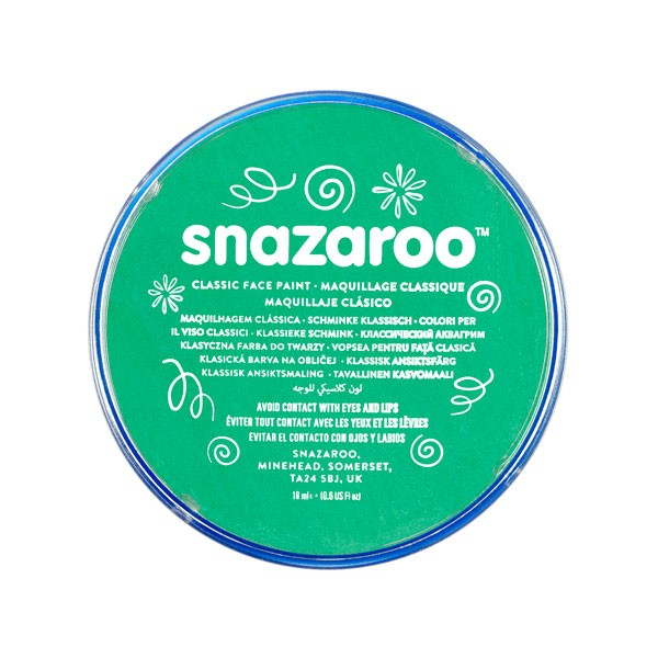 Snazaroo Br.green 18ml Face Paint