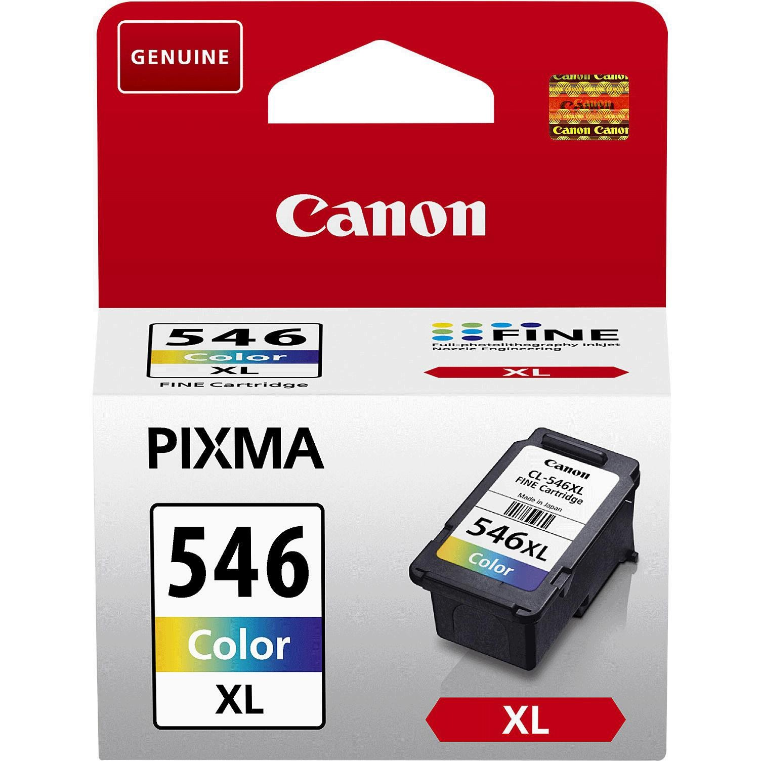 Canon Cl -546xl C/m/y Colour Ink Cartridge