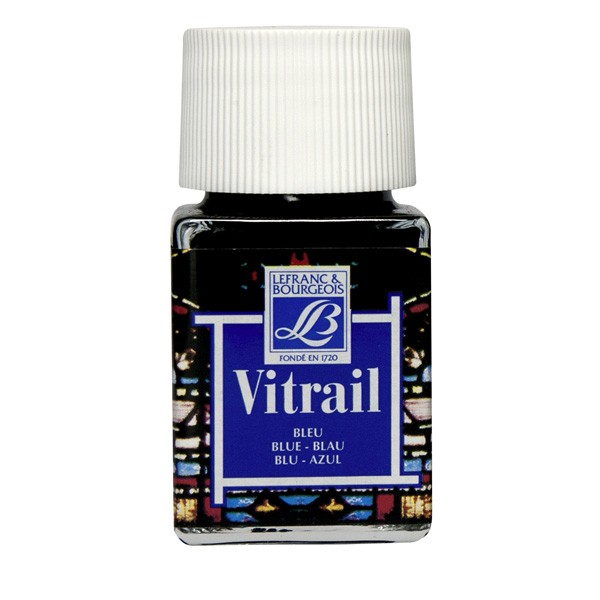 Vitrail 50ml Blue Glass Paint