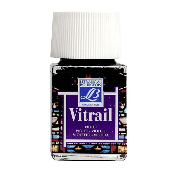 Vitrail 50ml Violet Glass Paint