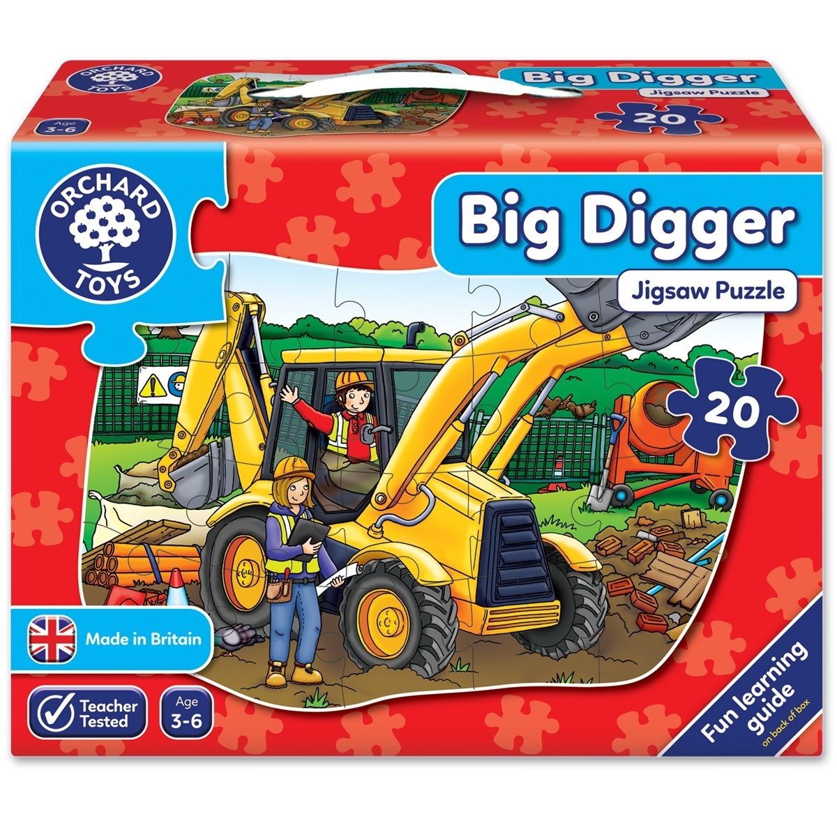 Big Digger Floor Puzzle