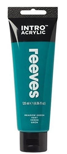 Reeves 120ml Phthalo Green  Acrylic