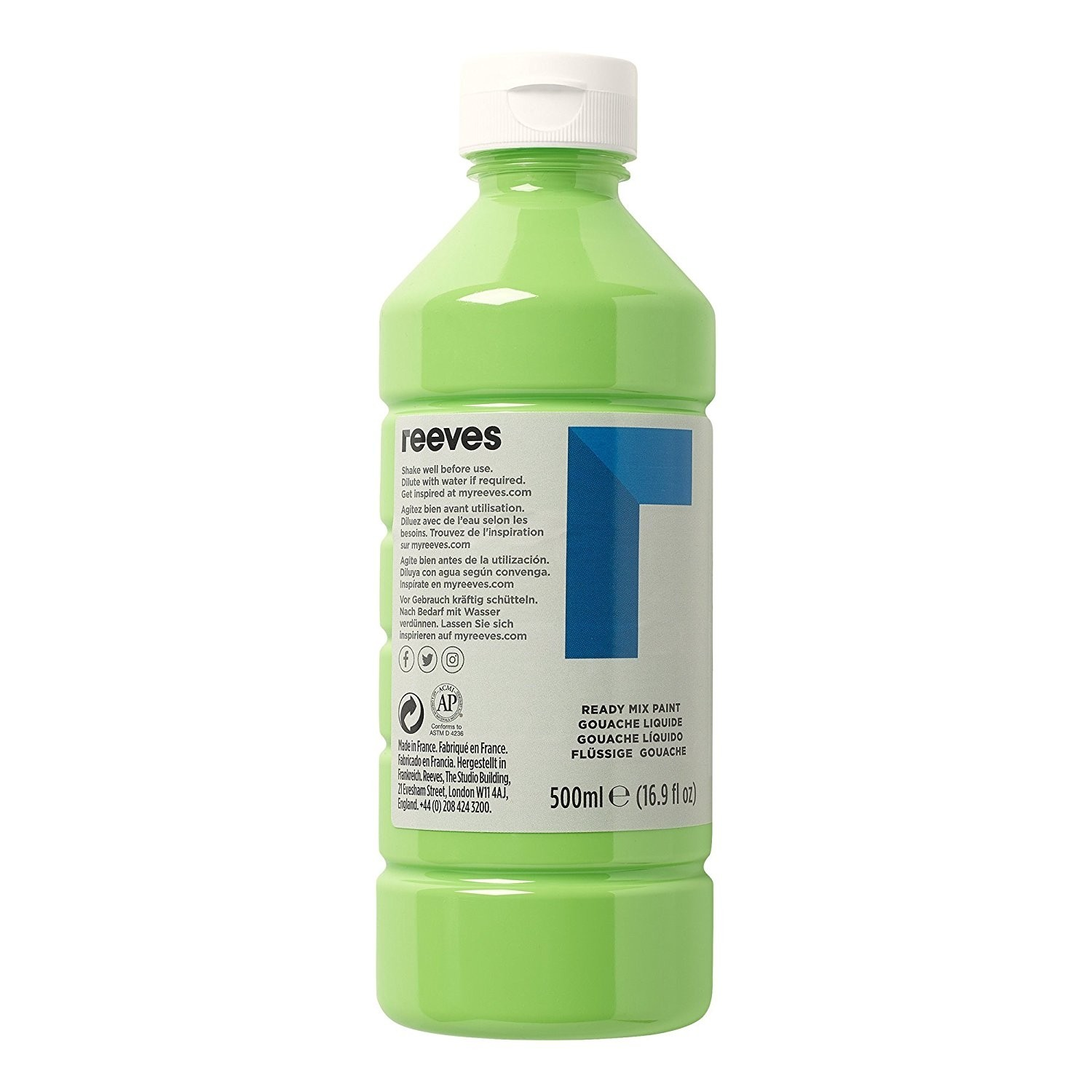 Reeves Leaf Green 500ml Poster Paint