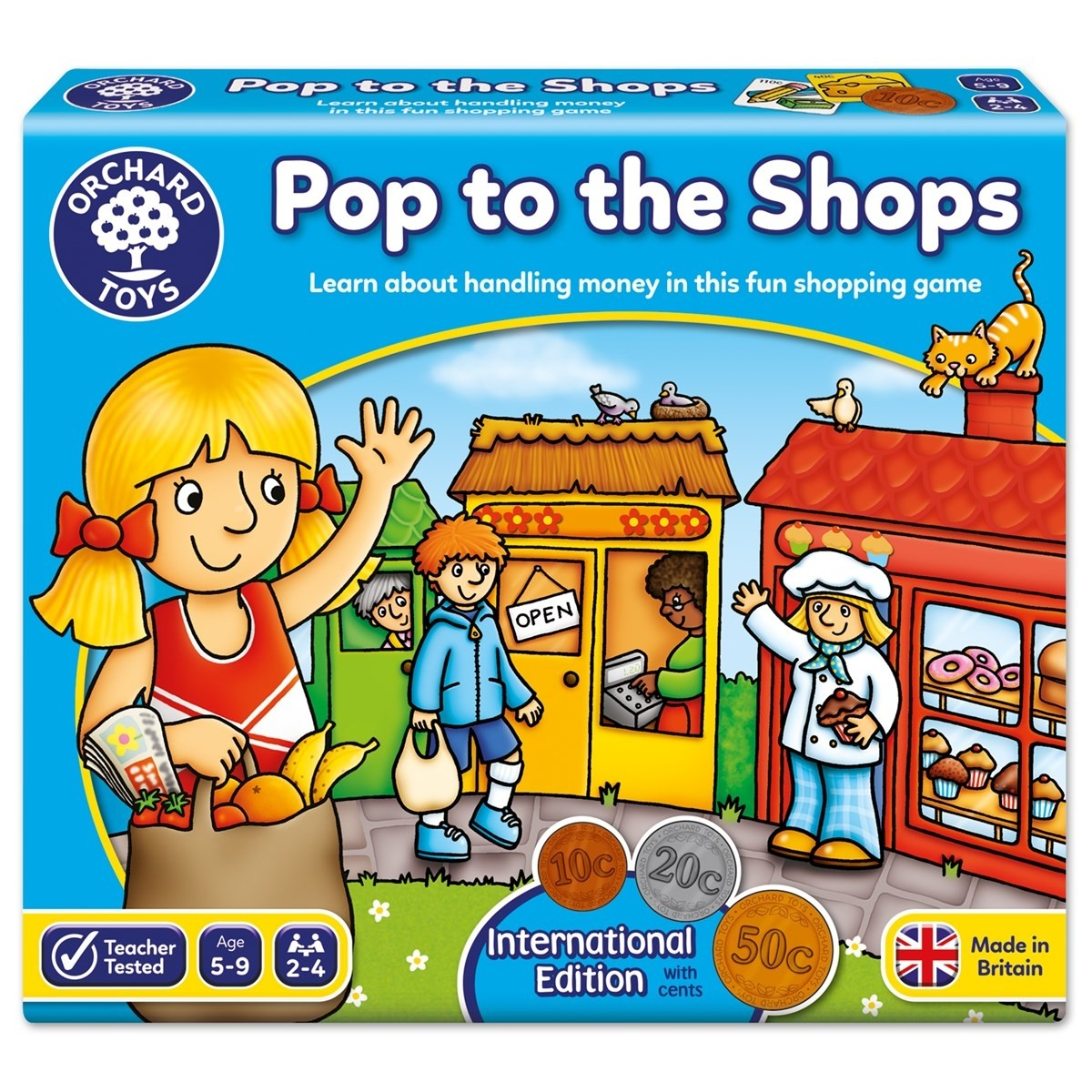 Pop To The Shops  - International Euro
