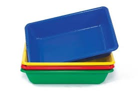 Sand Water Tray Pk.4 Cols