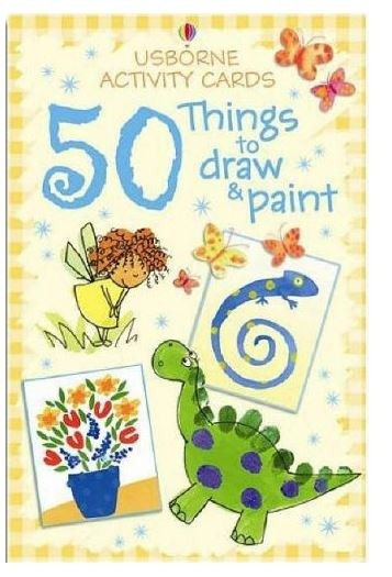 50 Things To Draw & Paint Cards