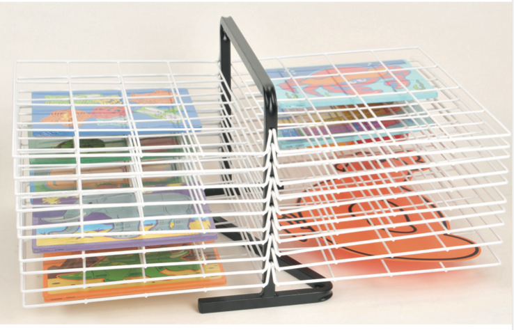 20 Shelf Table Top Drying Rack 70x43x55cm