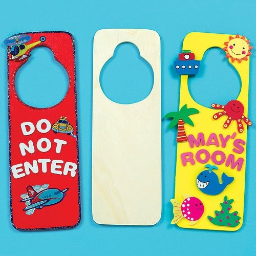 Design A Wooden Door Hanger Pk.6