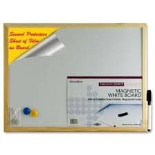 Premier Magnetic Whiteboard 40 X 30cm