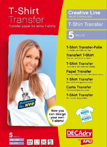 Decadry T -shirt Transfer Paper