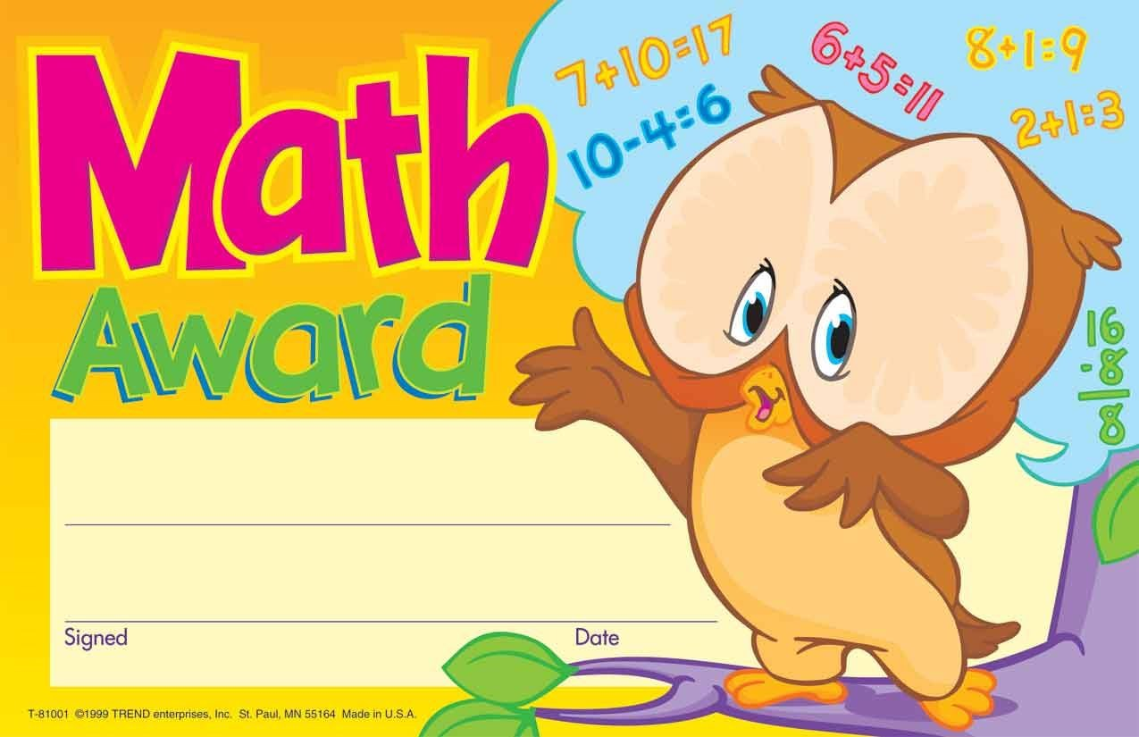 Trend Recognition Award-maths -30