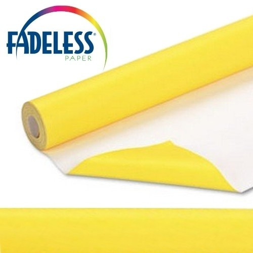 Fadeless Rolls -yellow 1.2m X 3.7m