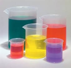 Metric Economy Beakers (5)