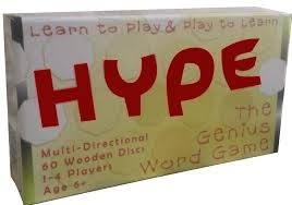 Hype Word Game  *special*