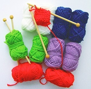 Knitting Set10 Balls &10 Needles(light)