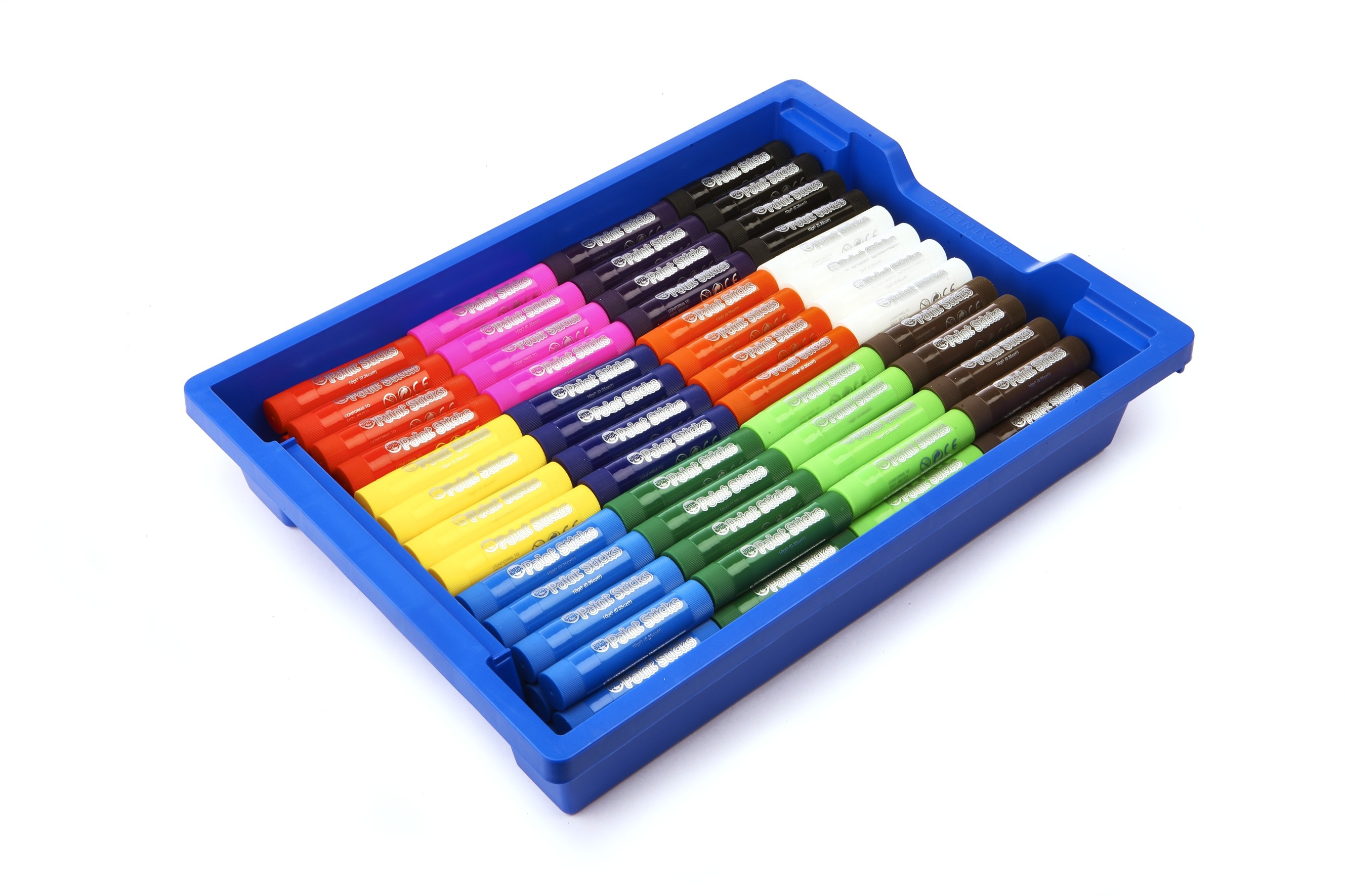 Little Brian Paint Sticks144 Classpack In Tray