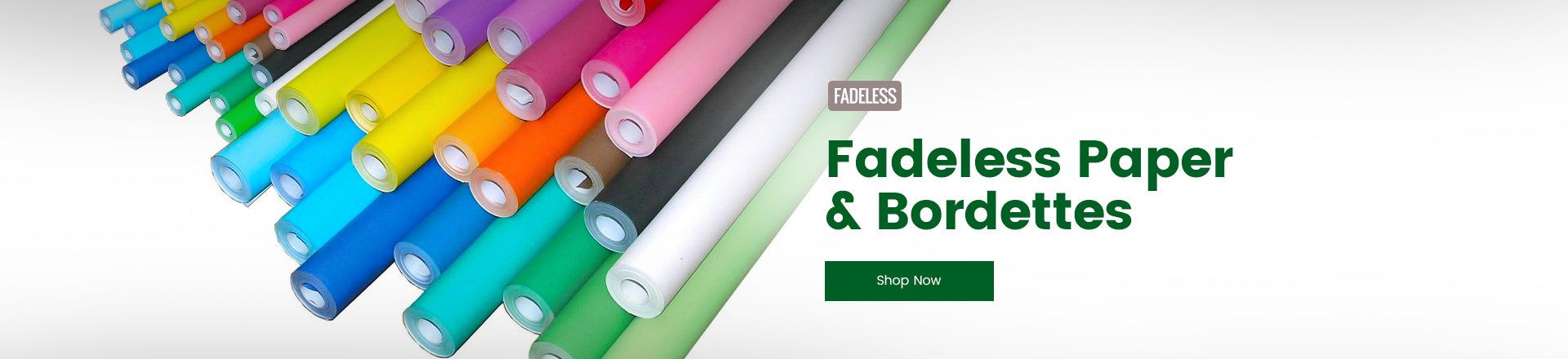 Fadeless Paper and Borderettes